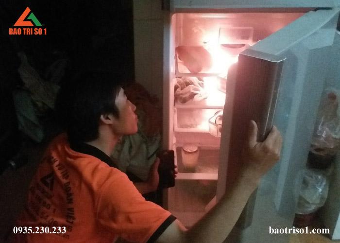 Sửa tủ lạnh uy tín tại Hà Nội phục vụ 24/24 kể cả các ngày nghỉ lễ